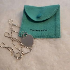 Tiffany Heart pendant .925 sterling